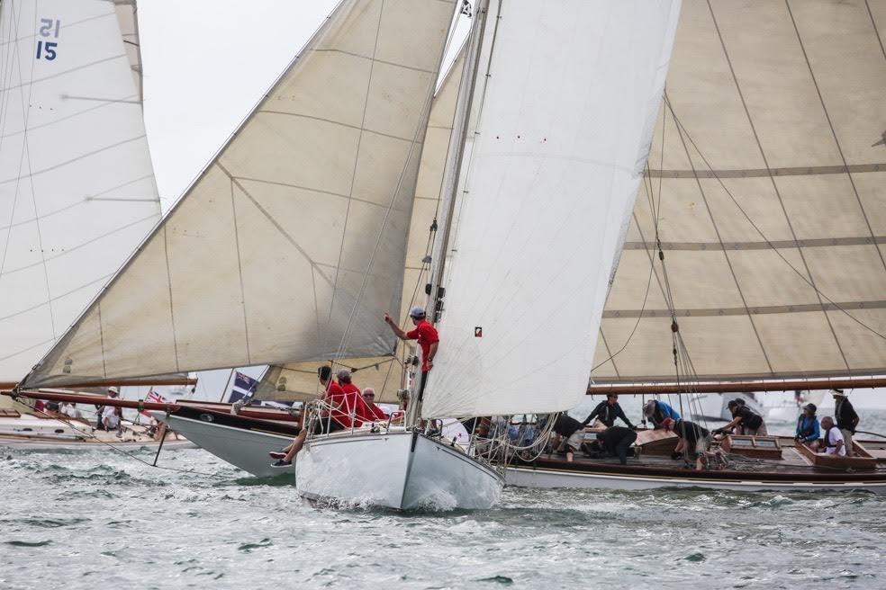 Classic yacht racing Auckland