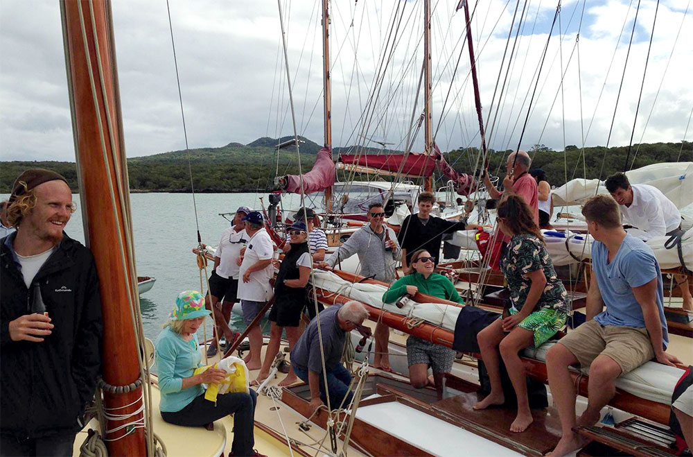 Classic Yacht and Launch party in Auckland