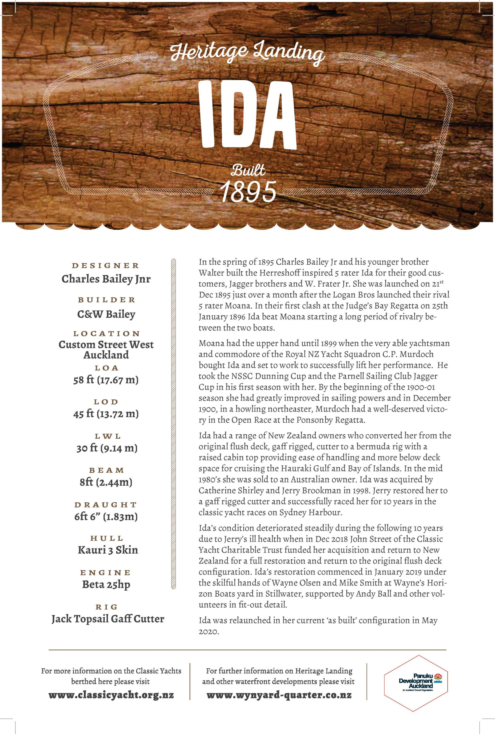 Ida at Heritage Landing