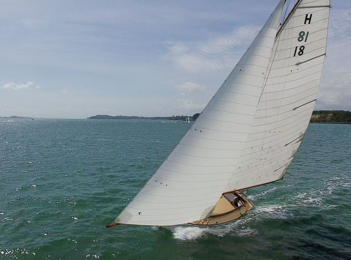 Classic Yacht Sailing in New Zealand