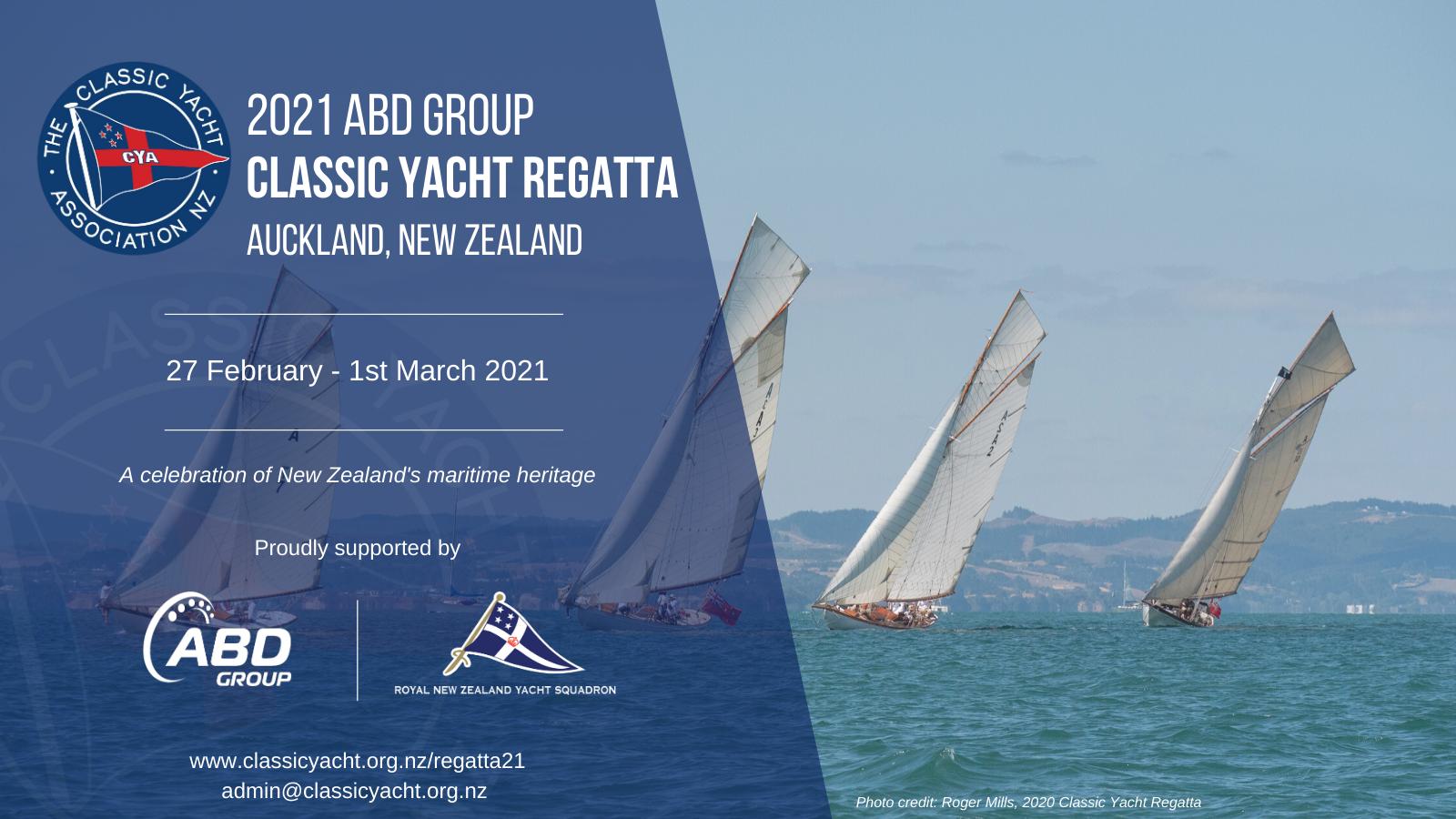 2021 ABD Group Classic Yacht Regatta Auckland
