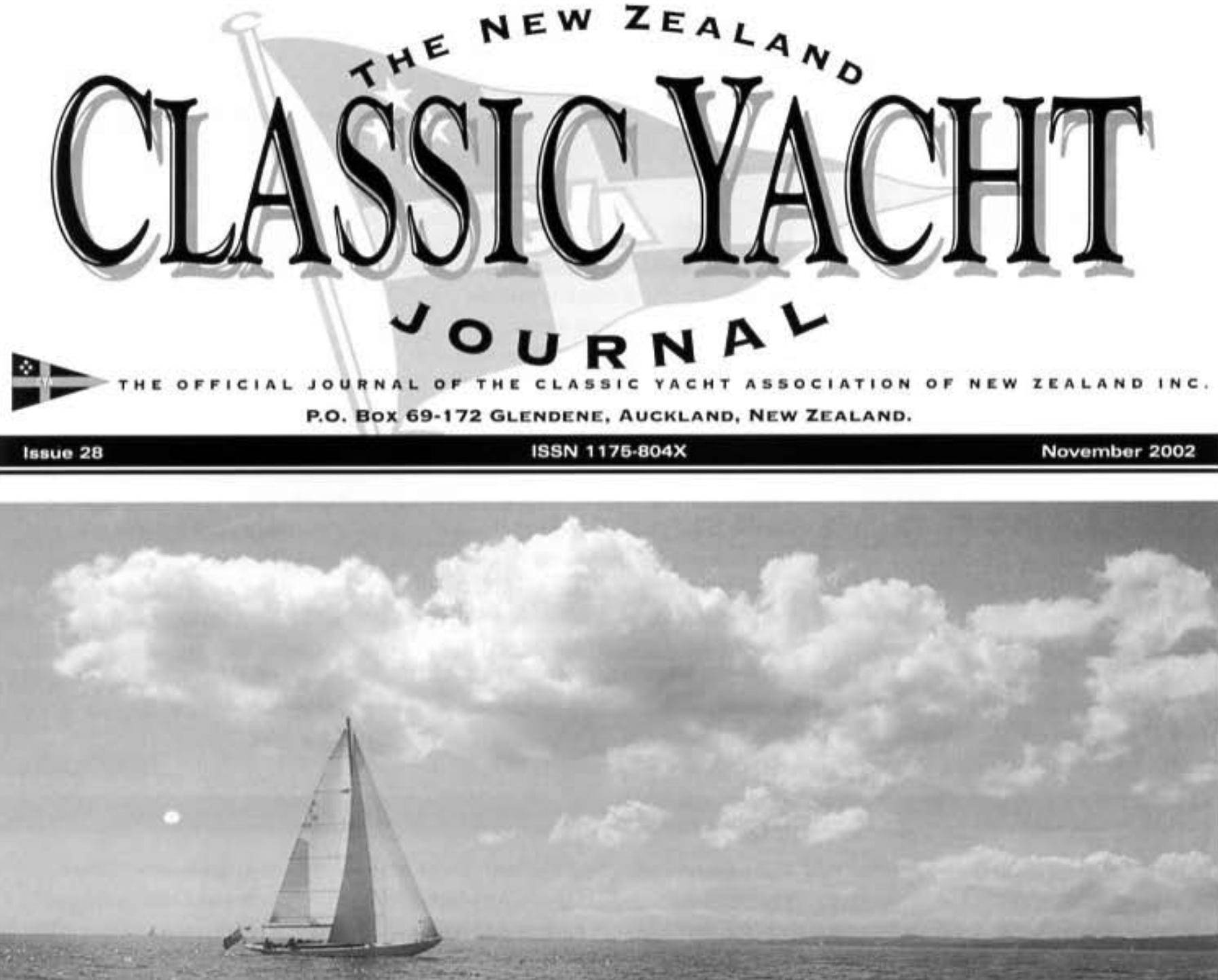 The New Zealand Classic Yacht Journal