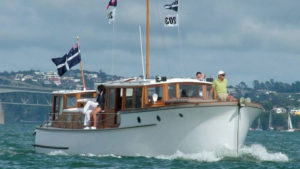 Classic Launch in the Waitemata Harbour