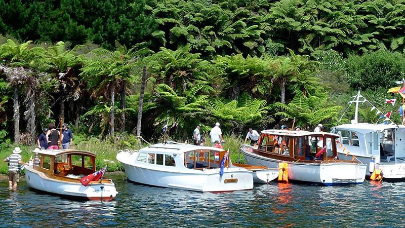 Classic Wooden Boat Association Lake Rotiti