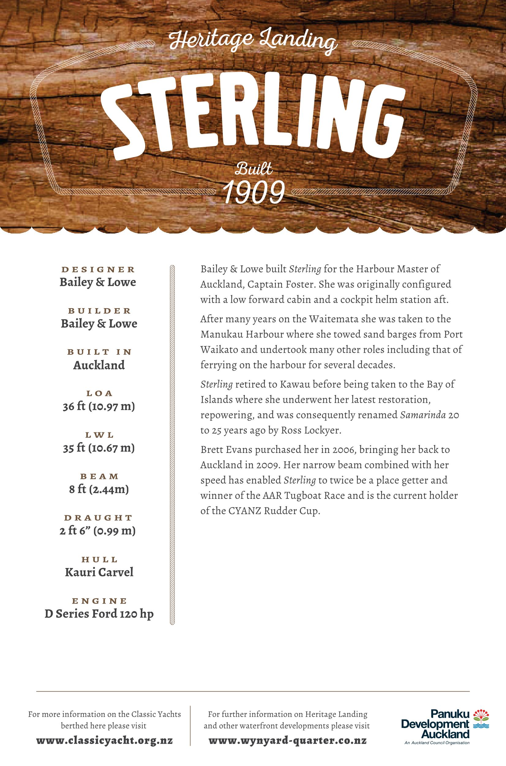Sterling Classic Launch Details