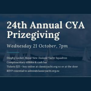 CYA Annual Prizegiving